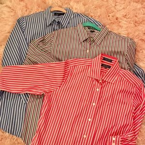 Women's Tailored Blouses, Lot of 3